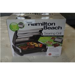 AS NEW HAMILTON BEACH SEARING GRILL - WORKING