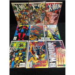 X-MEN/ WOLVERINE COMIC BOOK LOT (MARVEL COMICS)