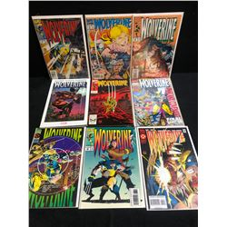 WOLVERINE COMIC BOOK LOT (MARVEL COMICS)