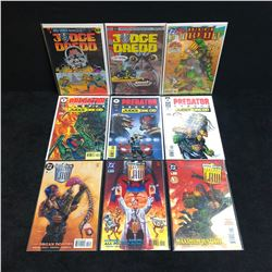 JUDGE DREDD COMIC BOOK LOT (DC COMICS)