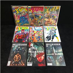 X-MEN/ HELLRAISER COMIC BOOK LOT