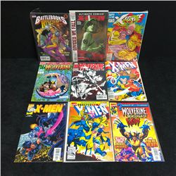 X-MEN/ WOLVERINE COMIC BOOK LOT