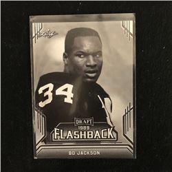 Bo Jackson 2019 Leaf Draft #02 Flashback Rookie Card