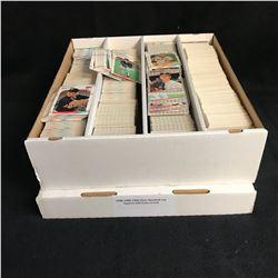 1988, 1989, 1990 FLEER BASEBALL CARD LOT (APPROX 3200 CARDS SORTED)