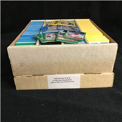 1991 DONRUSS S1 & S2 w/ 1991 FLEER BASEBALL CARD LOT (APPROX 3200 CARDS)