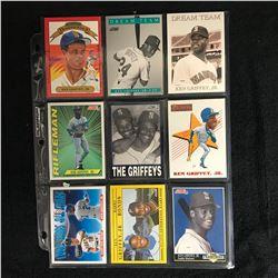 KEN GRIFFEY JR. BASEBALL CARD LOT