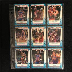 1989 FLEER BASKETBALL CARD LOT