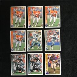 PACIFIC FOOTBALL CARD LOT