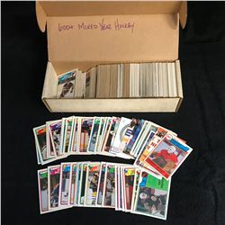 600+ ASSORTED HOCKEY CARDS