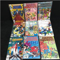 MARVEL UNIVERSE COMIC BOOK LOT