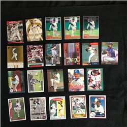 PEDRO MARTINEZ BASEBALL CARD LOT