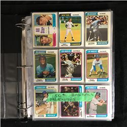 150+ BASEBALL CARD LOT (1965-1985)