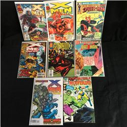 ASSORTED COMIC BOOK LOT (X-MEN UNLIMITED, BATMAN...)