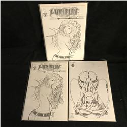 WITCHBLADE Sketch Cover COMIC BOOK LOT