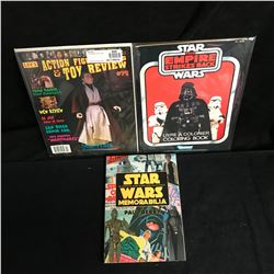 STAR WARS GUIDE, COLORING BOOK LOT