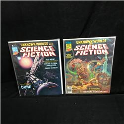 UNKNOWN WORLDS OF SCIENCE FICTION BOOK LOT