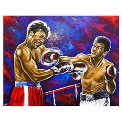 "Dimitry Turchinsky- Original Oil on Canvas ""Fight On"""