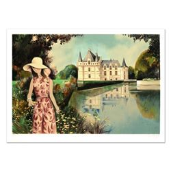 """Robert Vernet Bonfort, """"Solitude"""" Limited Edition Lithograph, Numbered and Hand Signed."""
