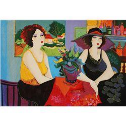 """Patricia Govezensky- Original Serigraph on Canvas """"Esco Bar"""""""