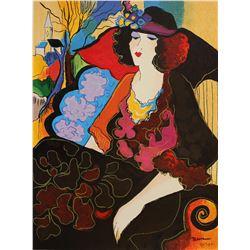 "Patricia Govezensky- Original Serigraph on Canvas ""Elizabeth"""