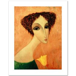 """Sergey Smirnov (1953-2006), """"Tamara"""" Limited Edition Mixed Media on Canvas, Numbered and Hand Signed"""