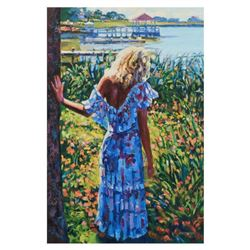 "Howard Behrens (1933-2014), ""My Beloved, By The Lake"" Limited Edition on Canvas, Numbered and Signed"