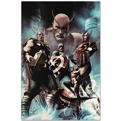 "Marvel Comics ""Hail Hydra #2"" Numbered Limited Edition Giclee on Canvas by Adi Granov with COA."