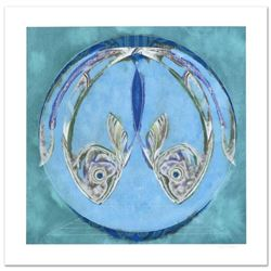 "Lu Hong, ""Pisces"" Limited Edition Giclee, Numbered and Hand Signed with COA."