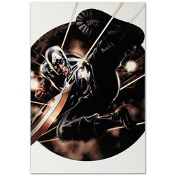 "Marvel Comics ""Captain America #41"" Numbered Limited Edition Giclee on Canvas by Steve Epting with C"