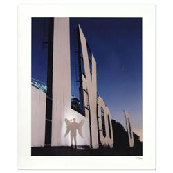 "Robert Sheer, ""The Agent Angel at the Hollywood Sign"" Limited Edition Single Exposure Photograph, Nu"