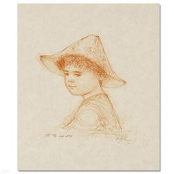 """""""Anthony"""" Limited Edition Lithograph by Edna Hibel (1917-2014), Numbered and Hand Signed with Certif"""