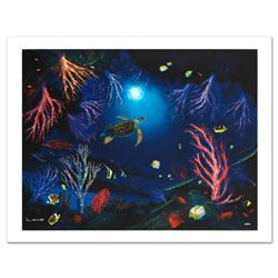 """Coral Reef Garden"" Limited Edition Giclee on Canvas by Renowned Artist Wyland, Numbered and Hand Si"
