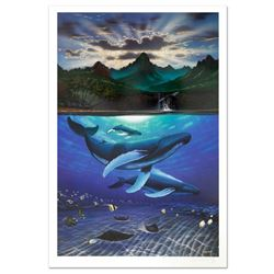 """Dawn of Creation"" Limited Edition Lithograph by Famed Artist Wyland, Numbered and Hand Signed with"