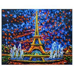 "Svyatoslav Shyrochuk- Mixed Media ""Paris View"""