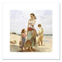 """Pino (1939-2010) """"Golden Afternoon"""" Limited Edition Giclee. Numbered and Hand Signed; Certificate of"""