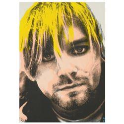"Ringo Daniel Funes (Protege of Andy Warhol's Apprentice, Steve Kaufman), ""Kurt's Music Notes (Cobain"