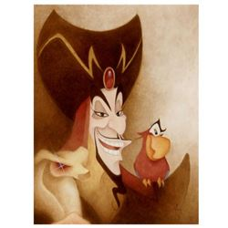 """Mike Kupka, """"Evil And Sarcastic"""" Limited Edition Giclee on Canvas from Disney Fine Art, Numbered and"""
