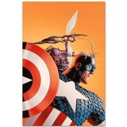 """Marvel Comics """"Avengers #77"""" Numbered Limited Edition Giclee on Canvas by John Cassaday with COA."""