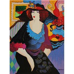 "Patricia Govezensky- Original Serigraph on Canvas ""Amanda"""