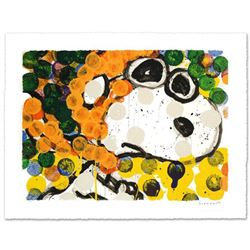 "Tom Everhart- Hand Pulled Original Lithograph ""Ten Ways to Drive an SUV"""