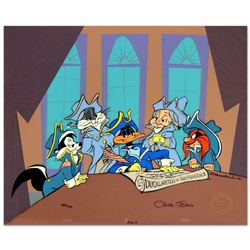 "Chuck Jones (1912-2002), ""Ducklaration of Independence"" Limited Edition Animation Cel with Hand Pain"