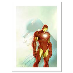 "Marvel Comics, ""Fallen Son: The Death of Captain America #5"" Numbered Limited Edition Canvas by Mich"