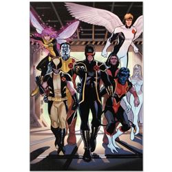 "Marvel Comics ""X-Men Annual Legacy #1"" Numbered Limited Edition Giclee on Canvas by Daniel Acuna wit"
