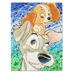 """Hair of the Dog"" Disney Limited Edition Serigraph by David Willardson, Numbered and Hand Signed wit"