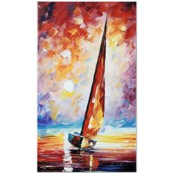 """Leonid Afremov (1955-2019) """"For the Sky"""" Limited Edition Giclee on Canvas, Numbered and Signed. This"""