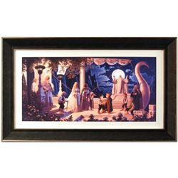 """At The Grey Havens"" Limited Edition Giclee on Canvas (44.5"" x 26.5"") by The Brothers Hildebrandt. N"
