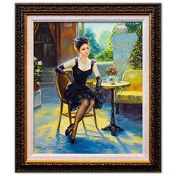 "Taras Sidan- Original Oil on Canvas ""Pabla"""