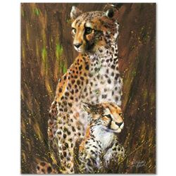"""Mother and Child"" Limited Edition Giclee on Canvas by Stephen Fishwick, Numbered and Signed. This p"