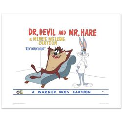"""Dr. Devil & Mr. Hare"" Limited Edition Giclee from Warner Bros., Numbered with Hologram Seal and Cer"