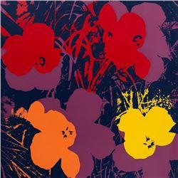 "Andy Warhol- Silk Screen ""Flowers 11.66"""